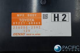 lexus made in japan mpx multiplex network body control module 8922148460 oem lexus