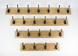 coat racks solid handmade oak and pine with 2 3 4 5 6 7 8