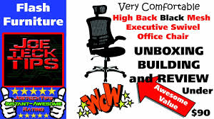 high back mesh executive swivel office chair flash