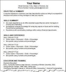 Skills For A Job Resume by Job Resume Communication Skills Http Www Resumecareer Info Job