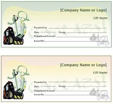 sample gift certificate here is preview of this first sample