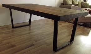 hand crafted kitchen tables atemberaubend hand made industrial style steel table base by ideas