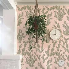 traditonal clasic wall stencils tree vine leaf