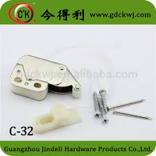 touch latch cabinet hardware furniture hardware high quality cabinet glass door push open touch