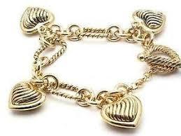 ebay jewelry silver charm bracelet images Gold charm bracelet ebay JPG