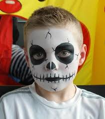 Boys Skeleton Halloween Costume 30 Cool Face Painting Ideas Kids Face Paintings Skeletons