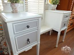 nightstand mesmerizing nightstand refinished painting furniture