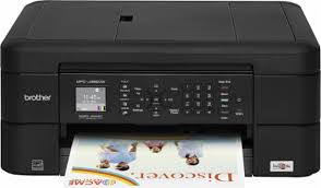 brother mfc j485dw wireless all in one printer black mfc j485dw