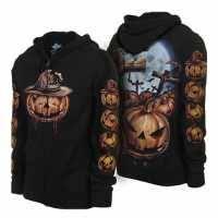 oogie boogie black hoodie for winter the nightmare before