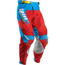 motocross gear set new thor mx a1 le core hux dirt bike blue cyan red motocross gear