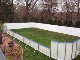 Backyard Rink Ideas Backyard Rink With Boards Outdoor Furniture Design And Ideas