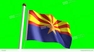 New Brunswick Flag Arizona Flag Stock Animation 1706261