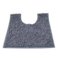 Shaggy Bathroom Rugs Vdomus Contour Bath Rug Soft Shaggy U Shaped Toilet Floor Mat