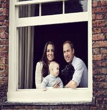 family portrait at a window of the cambridges u0027 home apartment 1a
