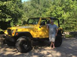 yellow jeep proud tj parents jeep wrangler tj forum