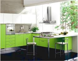 Green Kitchen Tile Backsplash Kitchen Large Green Kitchen Cabinet And Island With Granite Top