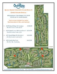 open house social quail ridge country club realty