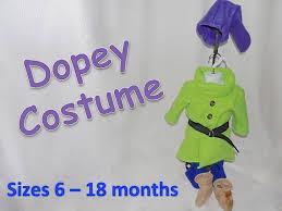 Halloween Dwarf Costume Baby 6 12 18 Month Dopey Dwarf Costume Babyderby