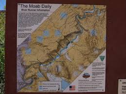 Moab Utah Map by Moab Daily Map Rocky Rapid Colorado River Near Moab Ut U2026 Flickr