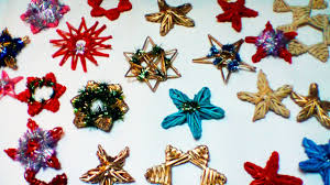 paper decorations for a christmas tree part 2 youtube