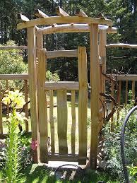 opulent design ideas garden arch with gate simple garden wooden