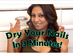 dry your nails in 3 minutes with ice cold water youtube