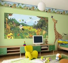 Kids Jungle Rug by Boys Bedroom Cozy Green Kid Bedroom Decoration Using Animal