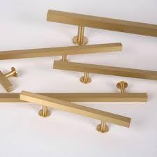 gold brass cabinet hardware kuchnia czyli apetyt na złoto schody pinterest brass drawer