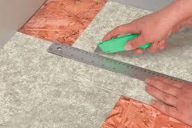 Installing Vinyl Tile The Vinyl Flooring Installing Vinyl Floor Tiles