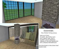 mod the sims split level on a sloped lot with 4 bedrooms and advertisement