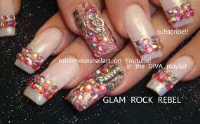 nail art design glam rock rebel nail art juicy j nail art