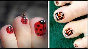 toe nail designs for kids youtube