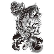 temporary tattoo koi carp koi carp 1 artwear tattoo