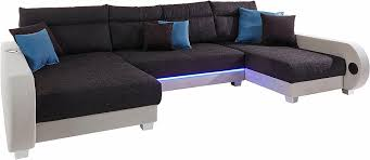 sofa mit led beleuchtung collection ab wohnlandschaft inklusive led beleuchtung wahlweise