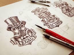 best 25 logo sketches ideas on pinterest branding process