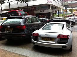 Audi Q7 2012 - file hk tst east 加連威老道 100 granville road outdoor carpark