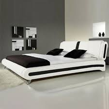 Best  White Leather Bed Ideas On Pinterest White Leather - White faux leather bedroom furniture