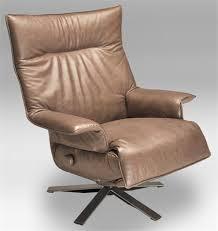 Swivel Reclining Armchair Recliner Valentina Lafer Reclining Chair Leather Swivel Recliner Chair