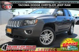 jeep crossover 2015 pre owned 2015 jeep compass limited suv in tacoma xj150332 fiat