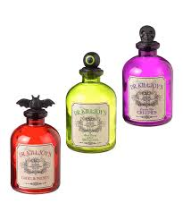 potion bottles for halloween black magic potion bottle set zulily