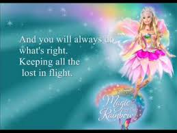 barbie fairytopia magic rainbow ost