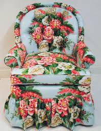 tufted chintz chair chintz always stylish pinterest floral