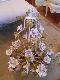 porcelain chandelier roses 134 best italian tole chandelier images on