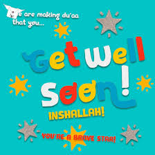 get well soon for children get well for kids islamic get well soon card for children