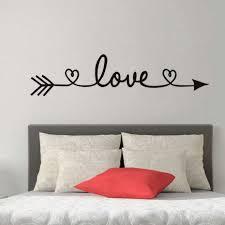 bedroom decals aliexpresscom buy dctop love arrow wall stickers aliexpresscom buy dctop love arrow wall stickers romantic aliexpresscom buy dctop love arrow wall stickers