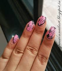 nail art my passion harunouta round plate 10 review with argyle