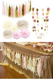 pink and gold baby shower ideas 35 diy baby shower ideas for