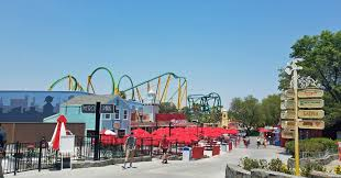 Six Flags Magic Mountain by Six Flags Magic Mountain Ride