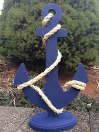 custom anchor wedding centerpiece nautical wedding decor on etsy