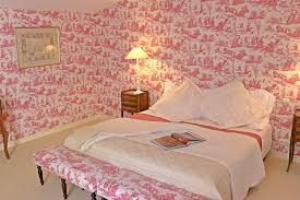 chambre toile de jouy chambres d hotes près de bordeaux château senailhac